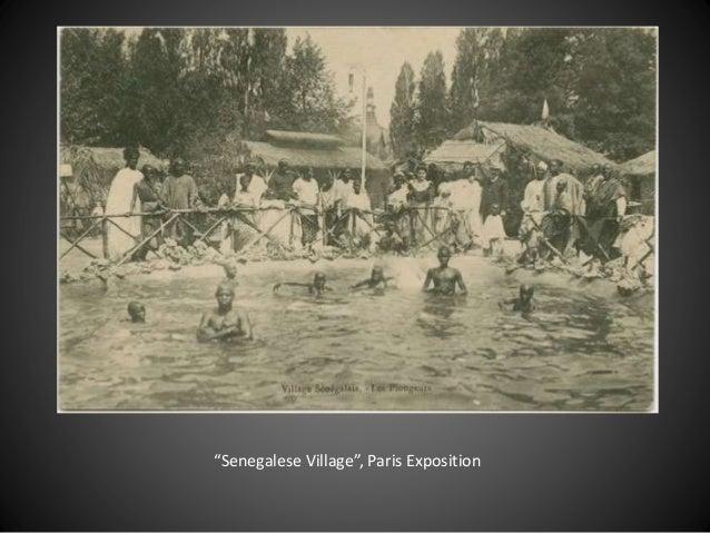 """""""Senegalese Village"""", Paris Exposition"""