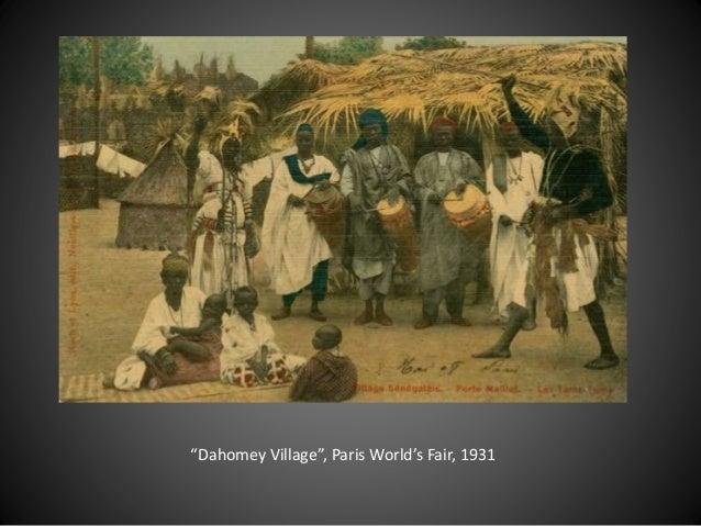 """Dahomey Village"", Paris World's Fair, 1931"