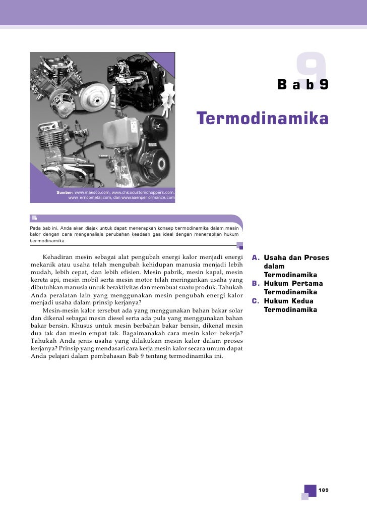 Bab99                                                                    Termodinamika          Sumber: www.maesco.com, ww...