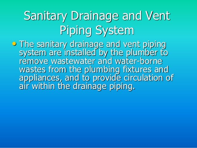 Vent Piping System