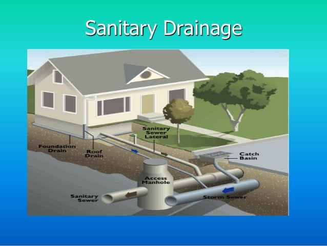Sanitary Drainage Pipes• Pipes installed to remove the wastewater and water-borne wastes from plumbing fixtures and convey...