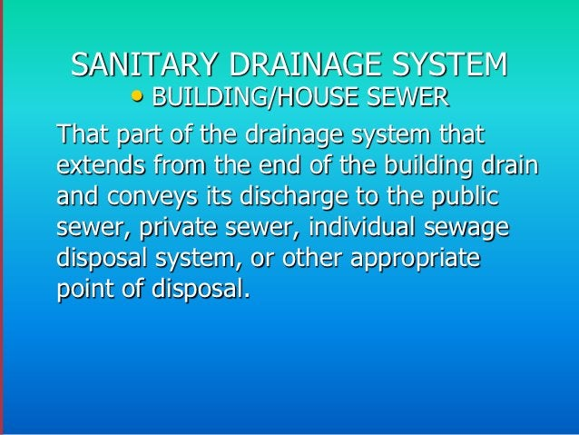Septic Tank and Seepage Pit– In this type of sewage disposal, the cycle is completed below ground andwithin the property. ...