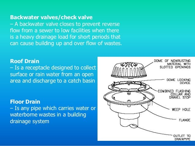 Wet Vent                              Looped Vent– a wet vent is a method of           – used on fixtures which are locate...