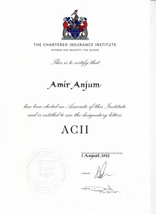 ACII Degree