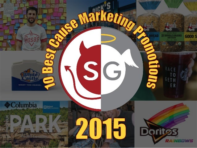Hi	and	Happy	New	Year!	 	 I'm	back	with	my	annual	list	of	10	Best	Cause	 Marke.ng	Promo.ons	of	2015.	As	always,	it	was	a	 ...