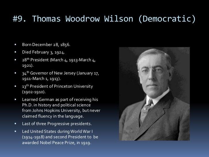 a biography of thomas woodrow wilson a president of united states 28th us president woodrow wilson when he became president of the united states wilson made the first woodrow wilson was born thomas woodrow.