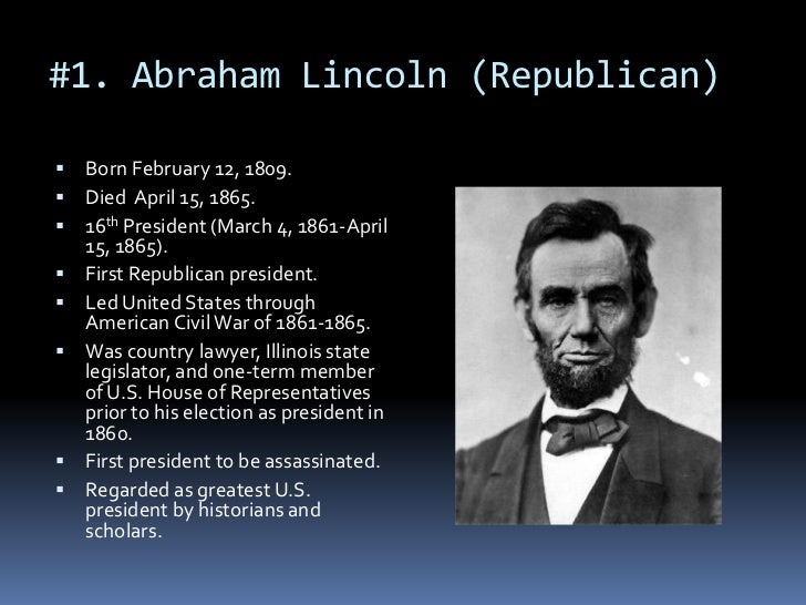 America's Greatest President: Abraham Lincoln