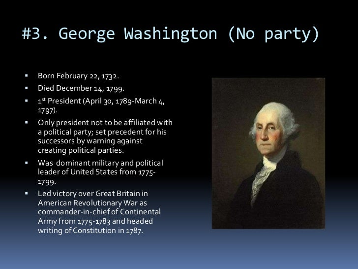 George Washington's warning against political parties ...  |George Washington Warning Against Parties