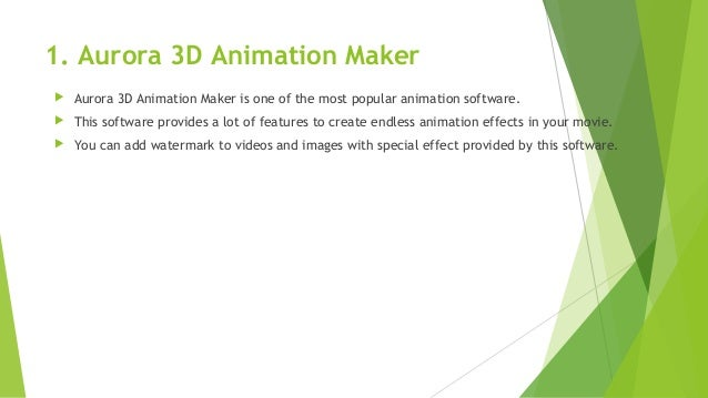 best 3d animation software for windows 10