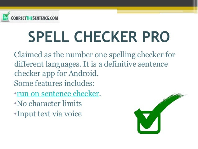 10 Best Apps to Correct the Sentence