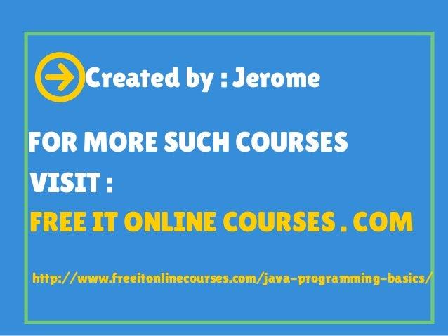 Image Result For Learn Java Basics Online