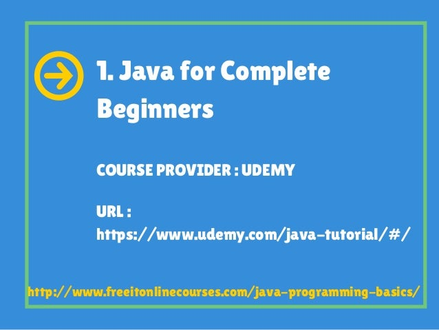 10 Best Courses To Learn Java Programming Basics for Free