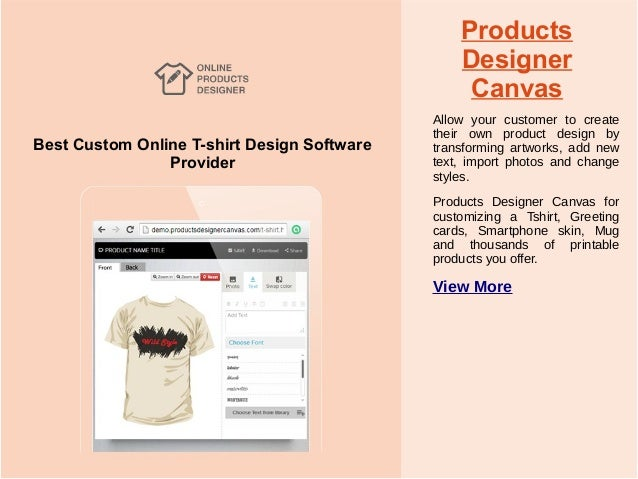 Products Designer; 3. Best Custom Online ...