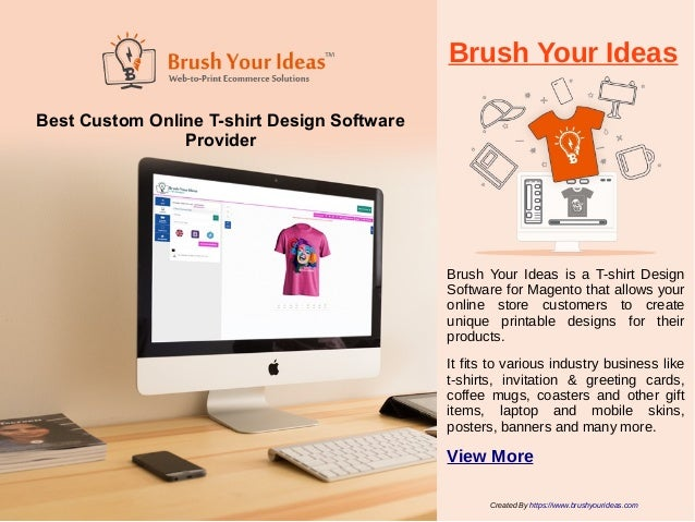 View More 4 Brush Your Ideas Best Custom Online T Shirt Design Software
