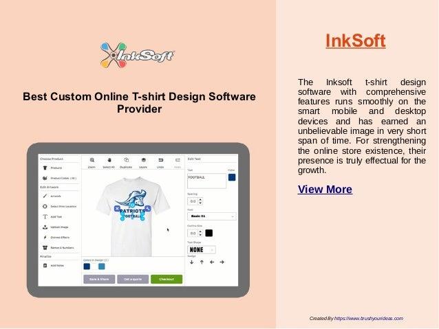 10 Best Custom Online T-shirt Design Software Providers For Apparel I…