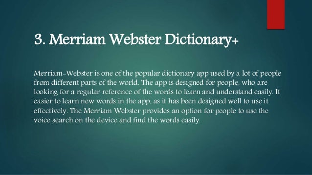 10 Best Dictionary Apps for iPhone, iPad and Mac