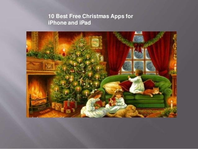 10 best free christmas apps for i phone and ipad - Free Christmas Apps