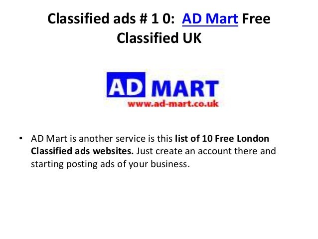 10 best free uk classified ads websites 2014 for 10 best free websites