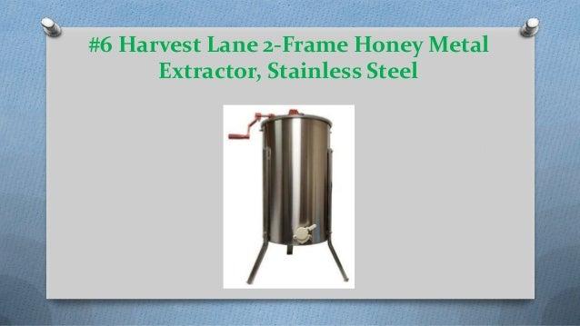 Harvest Lane 2 Frame Stainless Steel Honey Extractor