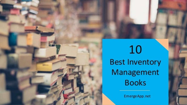 Best Inventory Management Books 10 EmergeApp.net