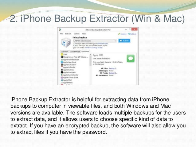 10 Best iPhone Backup Software for Windows and Mac Computers