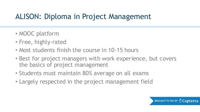 About The ExpertRating Online Project Management Certification