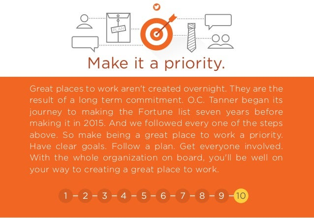 Make sure the ones you offer matter.! Make it a priority. Great places to work aren't created overnight. They are the resu...