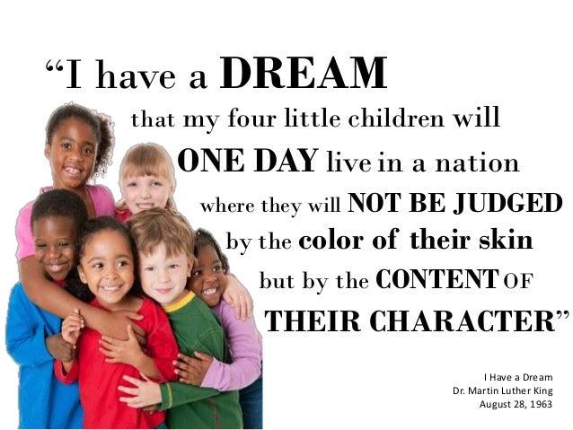 i have a dream speech for kids pdf