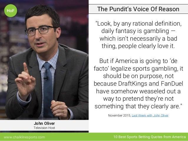John oliver sports betting arbitrage spread betting