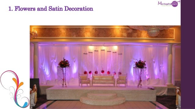 10 best stage decoration ideas for indian wedding flowers and satin decoration junglespirit Gallery