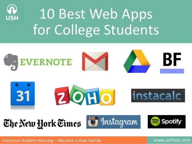 www.ushhost.comUniversal Student Housing – Become a Host Family 10 Best Web Apps for College Students