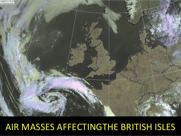 AIR MASSES AFFECTINGTHE BRITISH ISLES