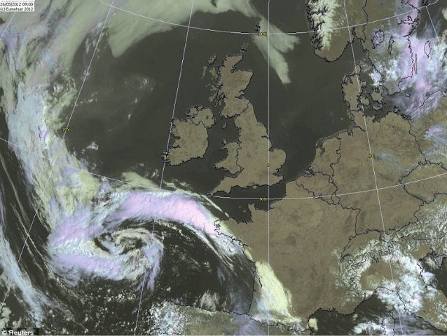 The British Isles experiences varied weather, which is  brought about by winds which drive air masses from  their source r...