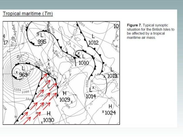 Air Masses Affecting the British Isles