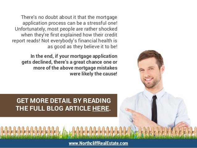 There's no doubt about it that the mortgage application process can be a stressful one! Unfortunately, most people are rat...