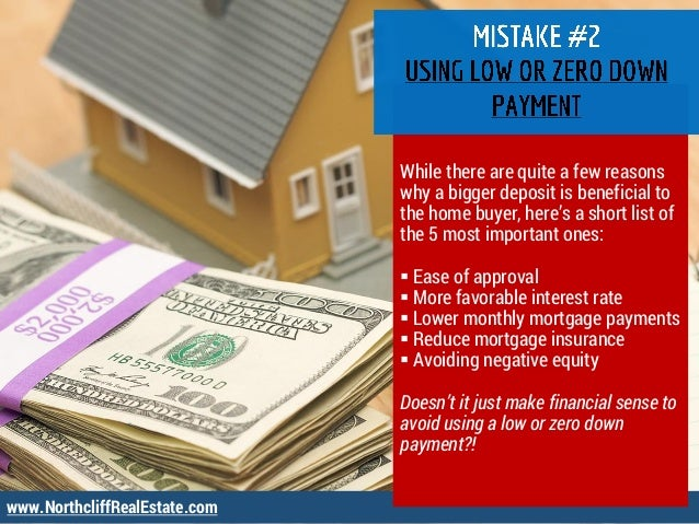 www.NorthcliffRealEstate.com While there are quite a few reasons why a bigger deposit is beneficial to the home buyer, her...