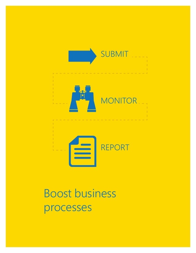 1 Boost business processes