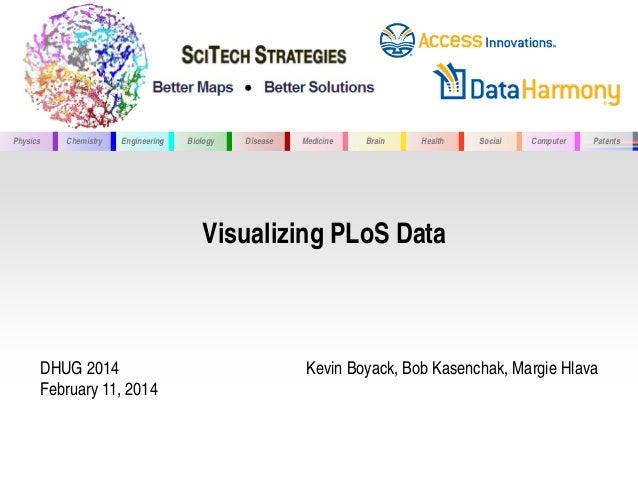 Physics Chemistry Engineering Biology Disease Medicine Brain Health Social Computer Patents Visualizing PLoS Data DHUG 201...