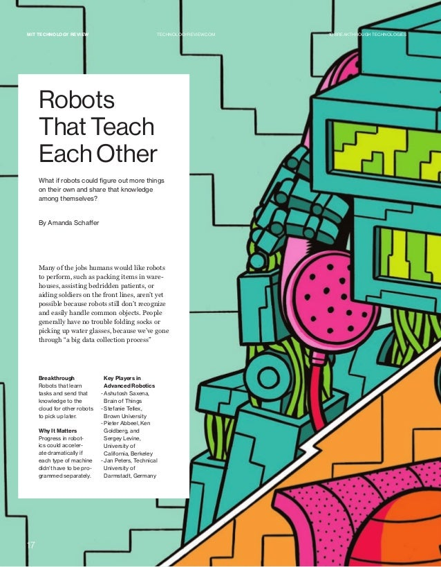 MIT Technology Review 10 Breakthrough Technologies