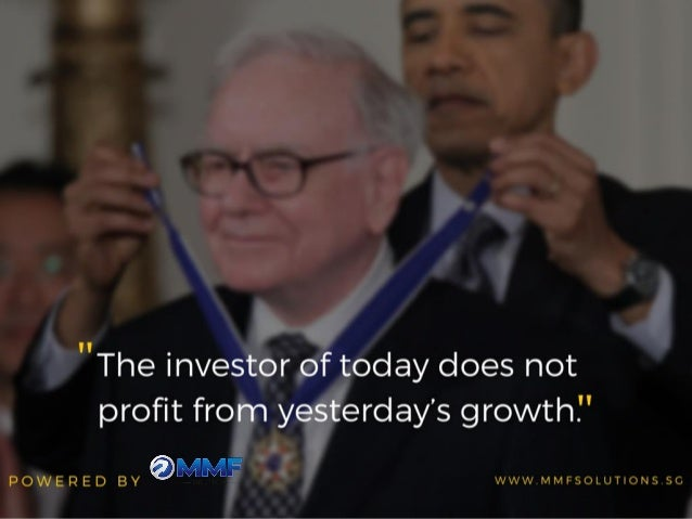 """The investor of today does not profit from yesterday's growth. ""  POWERED BY €35'/ BUIW' WWW. MMFSOLUT