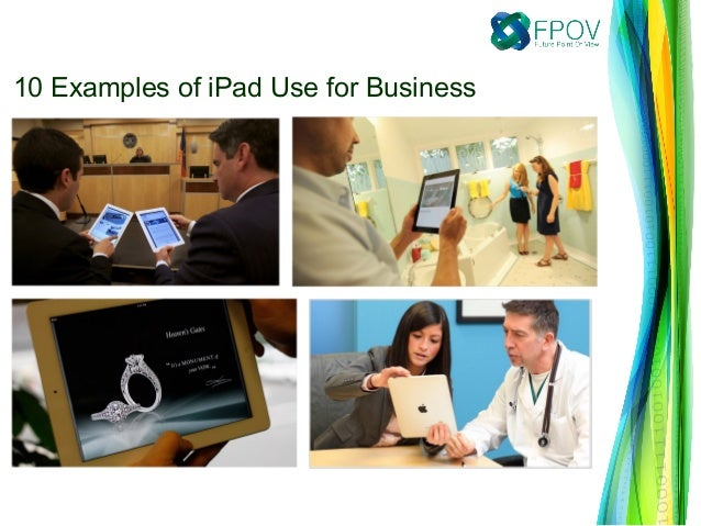 10 Examples of iPad Use for Business