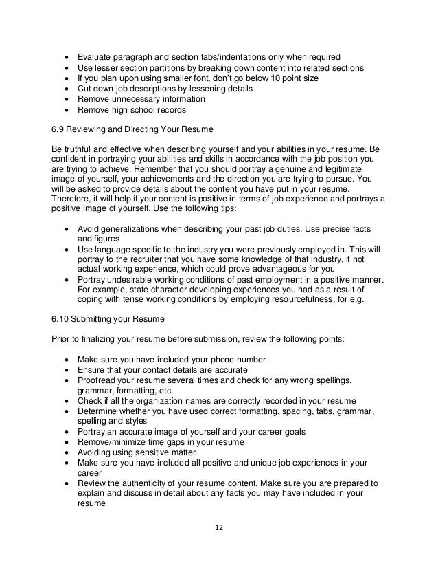 how to evaluate resumes