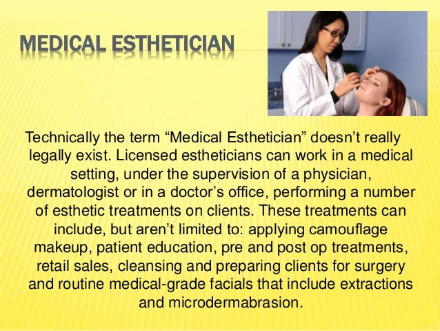 10 career possibilities with an esthetician license