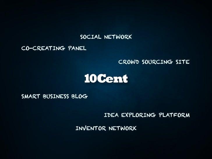 Neue Co-Creating-Plattform 10Cent Slide 3