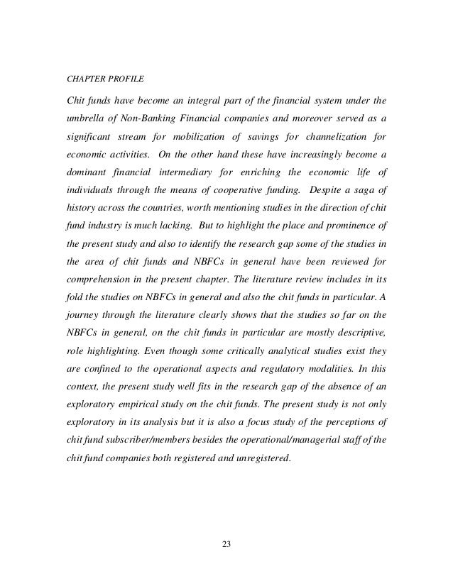 literature review on ksfe