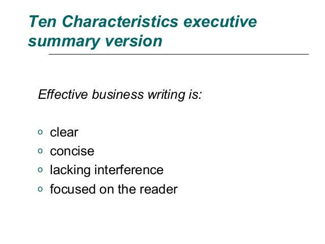 characteristics of effective communication pdf