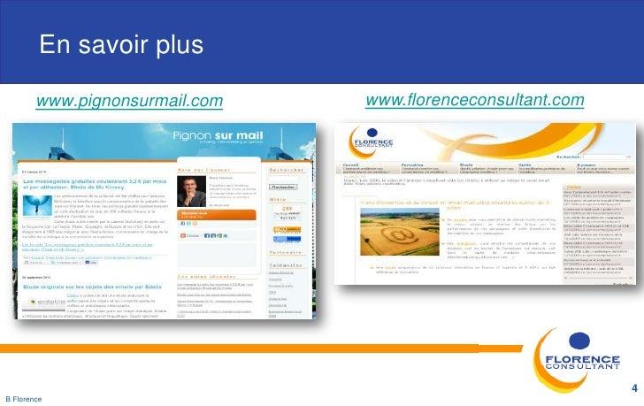 En savoir plus        www.pignonsurmail.com   www.florenceconsultant.com                                                  ...