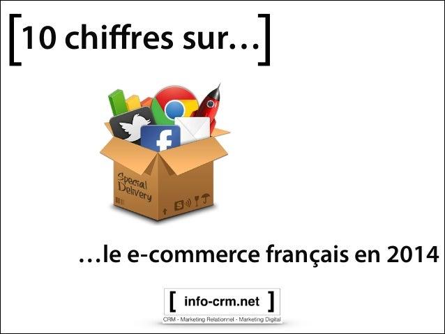 [  ]  10 chiffres sur…  …le e-commerce français en 2014