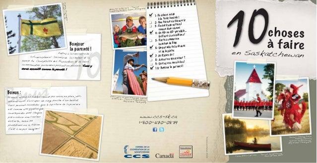 En ligne datant de la Saskatchewan