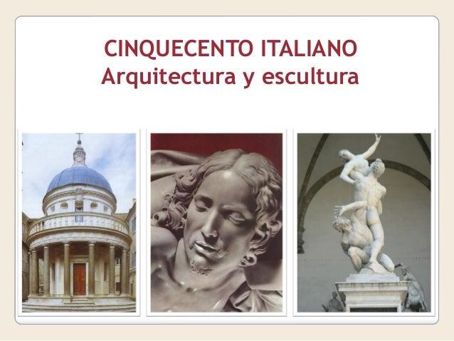 Tema 10 cinquecento italiano arquitectura y escultura for Arquitectura quattrocento y cinquecento